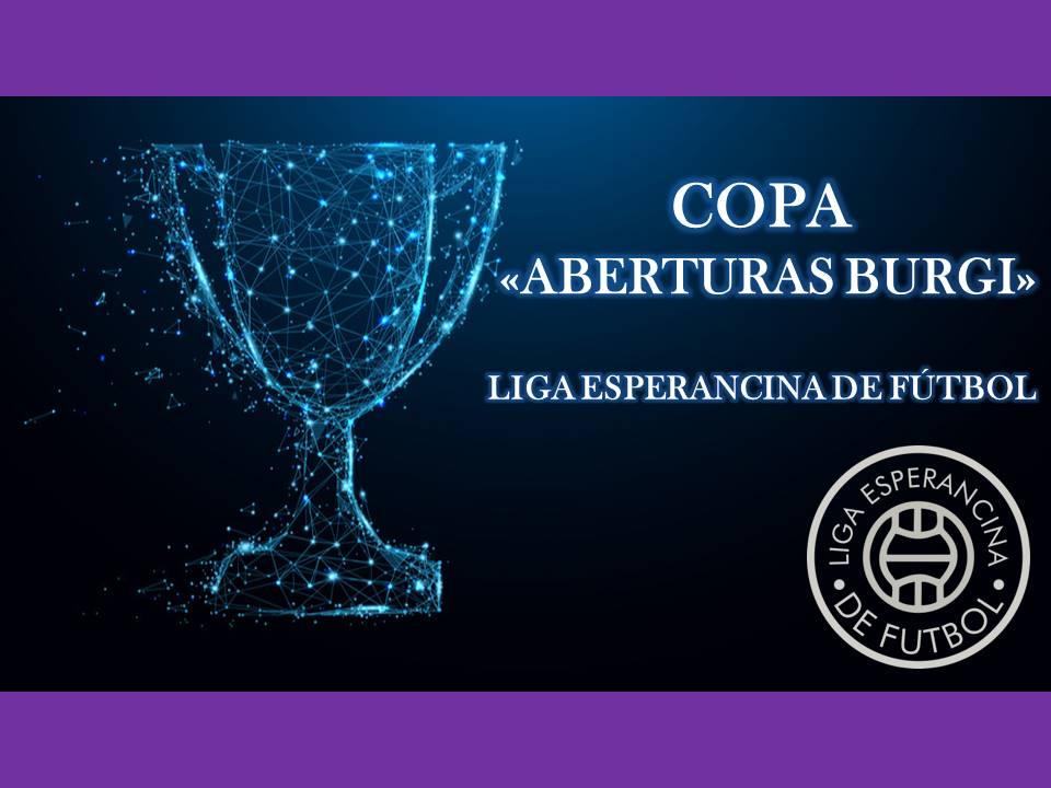 "Cruces de la ""SuperCopa Fábrica de Aberturas Burgi"""
