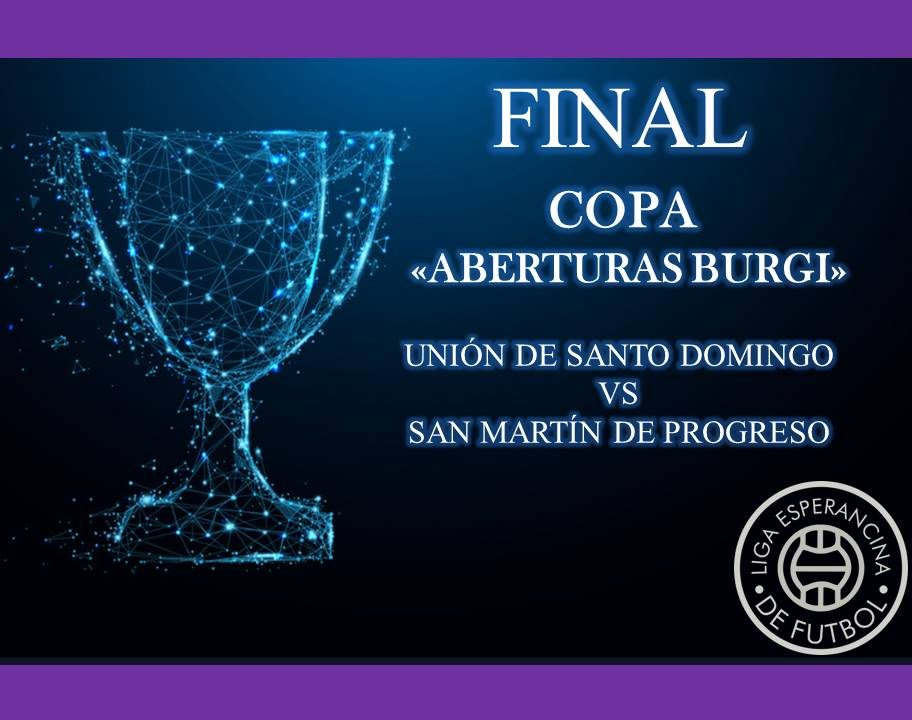 Final Copa Aberturas Burgi Postergada