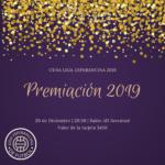 Cena Premiación LEF 2019